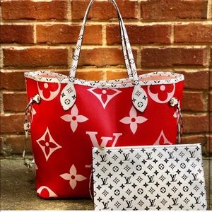 Louis Vuitton Limited Edition Giant Neverfull MM